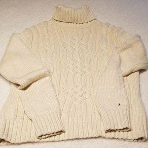 Tommy Hilfiger cable knit Turtleneck Sweater